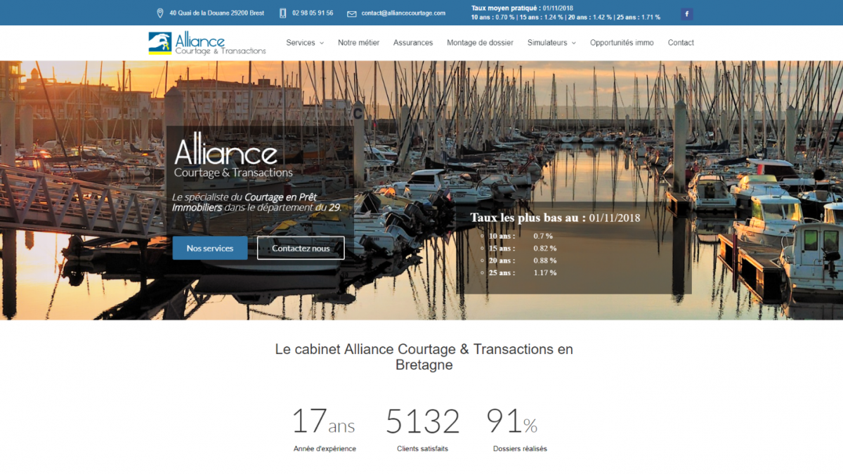 Alliance courtage et transaction
