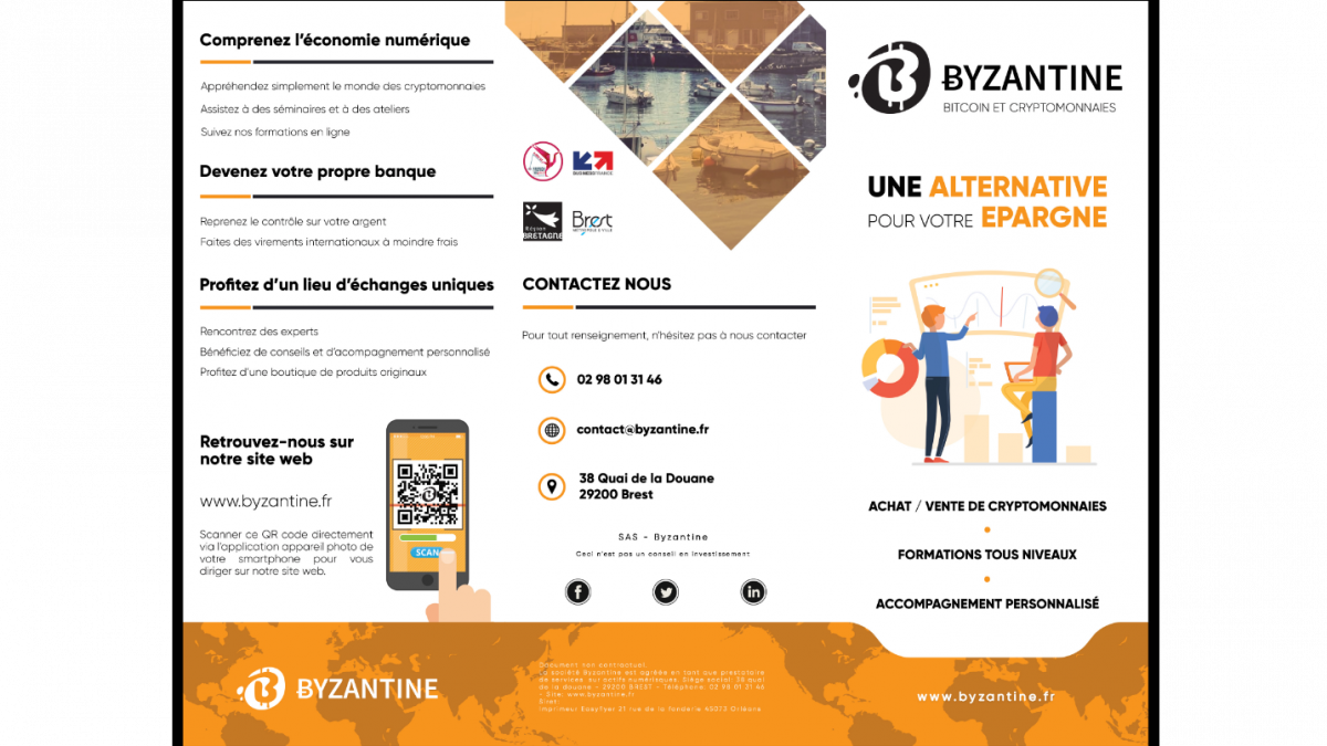 Byzantine – Flyer (Une alternative pour votre épargne – EXT)