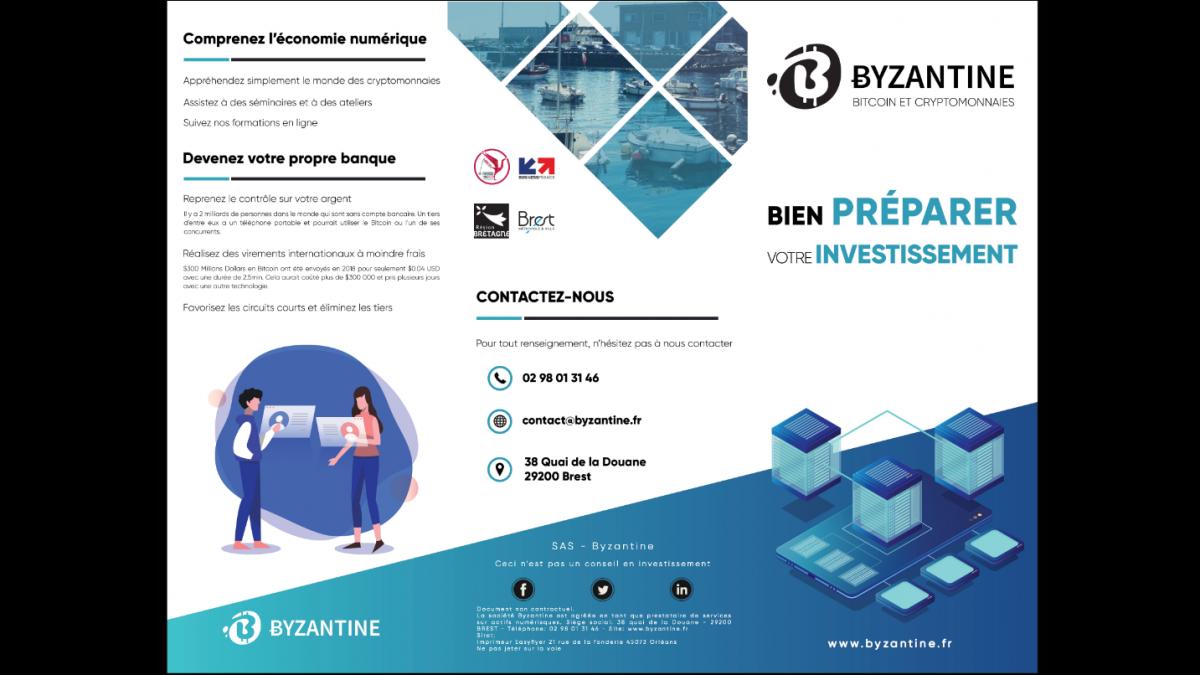 Byzantine – Flyer (Bien préparer votre investissement – EXT)