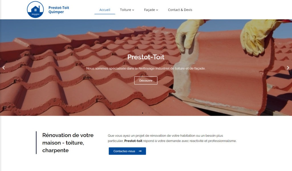 Rénovation toit quimper